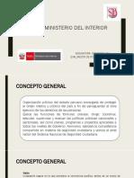 Ministerio Del Interior Política Sectorial. Diagnóstico Situacional. Plan Anual. Indicadores de Evaluación.