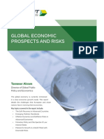 White Paper Global Economic Prospects and Risks