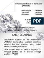 crs painan PRETERM PREMATURE RUPTURE OF MEMBRANE.pptx