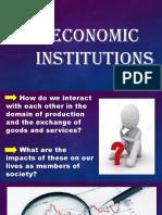 3. Economic Institutions