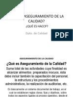 Aseg de Calidad-Haccp