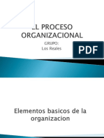 El Proceso Organizacional