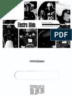 Bedienungsanleitung Harley Davidson FLH Electra Glide Englisch