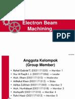 PPT Electron Beam Machining