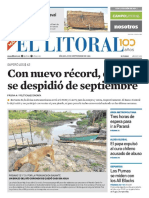 El Litoral Mañana 29-09-2018
