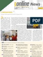 Informativo Obras Online - Outubro