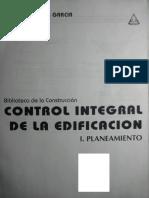 177649435 Control Integral de La Edificacion I Planeamiento German Puyana