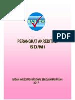 Perangkat Akreditasi SD-MI 2017