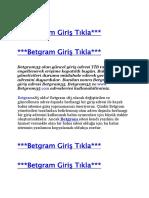 Betgram 47 Giriş - Betgram47 Yeni Adresi - Betgram47.com