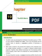 Ch- 19 (the BCG Matrix)