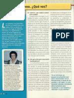 La Ciencia de Los Sentidos Entrevista a Miguelina Girao