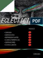 Eclecticismo diapositivas