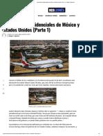 Los Aviones Presidenciales de México y ..