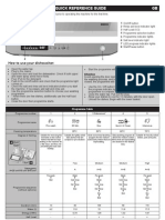 Quick Reference Guide Beko DSFN 1530