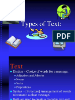 Text Types Ok
