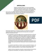 IMPERIALISMO, Datos y Características