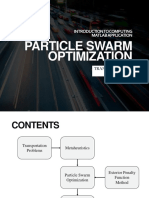 Particle Swarm Optimization for Transportation Problem
