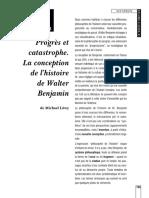 Benjamin - Progrès et catastrophe.pdf
