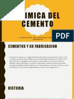 1.2 Quimica Del Cemento Procesos de Manufactura Del Cemento