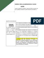 Bases Orientadoras Para La Elaboración Plan de Acción