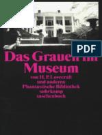 Lovecraft, H. P. - Dass Grauen Im Museum