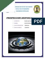 Prospeccion Geofisica Tarea 2