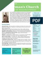 st germans newsletter - 30 september 2018