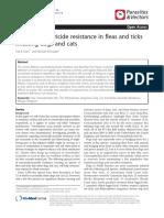 Review Resistencia a Antiparasitarios Pulgas.pdf