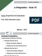 Circuitos Integrados 2015 01 Aula 10