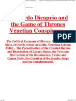 Leonardo Dicaprio Game of Thrones Venetian Conspiracy Political Economy of Slavery.pdf