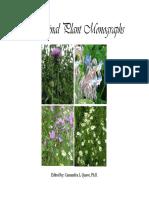 Medicinal Plant Monograph
