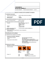 Ficha de Datos de Seguridad Wurth Limpia Contactos (200ml)(_)