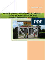 Estudio de Factibilidad UT Chaparral-2014