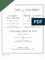 Metodo de Flauta Transversal Taffanell