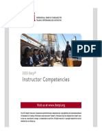 2003 Ibstpi Instructor Competencies