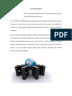 LOS SERVIDORES' Monografia Omer