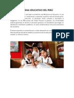 Sistema Educativo Del Perú (1)