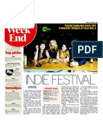 B Live Promotions October Indie Festival