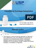 1.2.- Conceptos de Tecnologia Farmaceutica