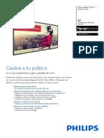 Datasheet Philips BDL8470QU