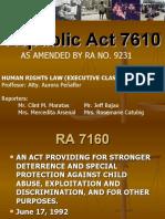 Republic Act 7610