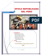 Epoca Republicana