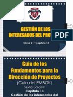 Cap.13_Gestión de Los Interesados Del Proyecto