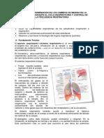 Determinacion de Los Cambios de Medida de La Caja Toracica Durante El Ciclo Respiratorio y Control de La Frecuencia Respiratoria