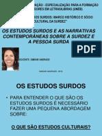 1 - BLOCO I - ESTUDOS SURDOS.ppsx