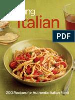 Fine Cooking Italian - 200 Recipes for Authentic Italian Food