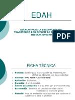 FICHA TÉCNICA DE TEST TDAH ó EDAH