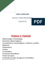 2018-1 S03 SESIÓN 1-2 Semana 03 Analisis Meteorologico HidrologiaA