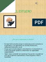 El Estudio Presentacion