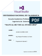 Manual de visual studio